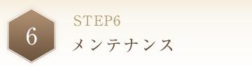 STEP6 メンテナンス